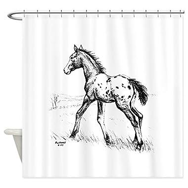 CafePress - Appaloosa Foal Shower Curtain - Decorative Fabric Shower Curtain