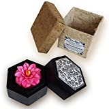 "Jittasil Thai Hand-Carved Soap Flower, 4"" Scented"