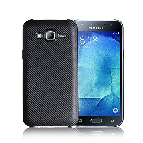 Case for Samsung SM-J701M/DS Galaxy J7 Neo 2017 Duos/SM-J701M/SM-J701MT Galaxy J7 Neo 2017 HD TV Duos (Samsung J701) Case TPU Silicone Soft Shell Cover Black