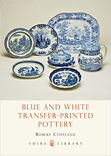 Book Blue and White Transfer-Printed Pottery (Shire Album)