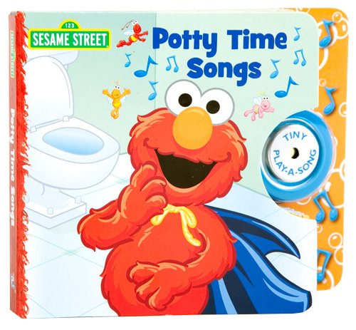 Elmo's Potty Time Tiny Play-a-Song Book by Susan Rich Brooke, Veronica Wagner (2011) Board book