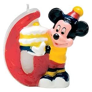 Party Discount - Vela para Tartas Mickey Mouse (71229)