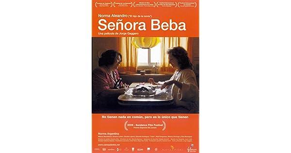 Amazon.com: La Senora Beba [Ntsc/region 1 and 4 Dvd. Import ...