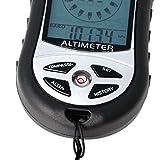 YUNAWU Digital 8 in 1 LCD Compass Barometer