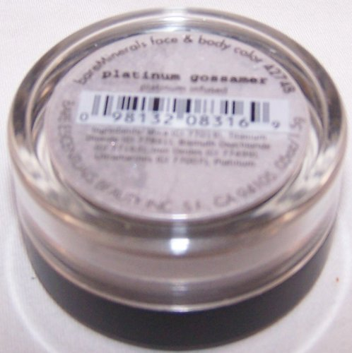 Bare Escentuals Platinum Gossamer Face Color 1.5 g (Bare Escentuals Face)