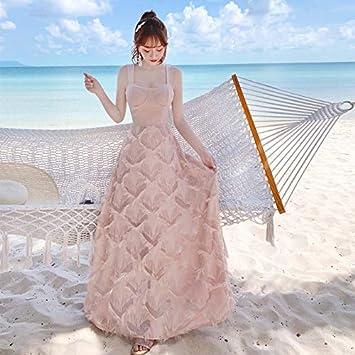Qunlianyi Vestidos Para Playa Largos Vestido De Fiesta De