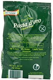 Sam Mills Pasta D\'Oro Gluten Free Penne Rigate, 1-Pound (Pack of 6)