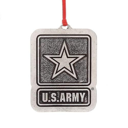 Wendell August US Army Logo Ornament, Christmas Decoration
