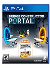 Enter the Aperture science enrichment center and experience bridge constructor Portal - the unique merging of the classic Portal and bridge constructor games. As a new employee in the Aperture science test Lab, it's your job to build bridges,...
