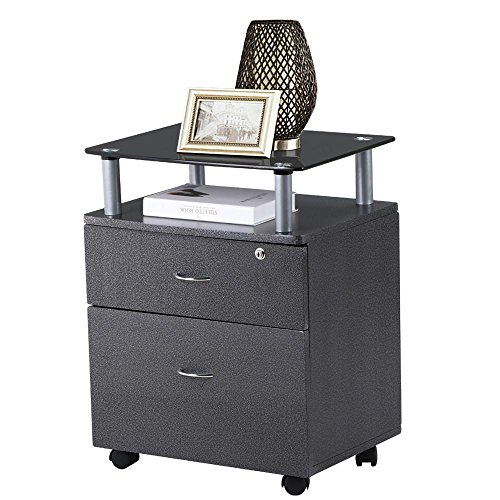 World Pride 2 Drawers Bedside Table Cabinet Nightstand Mobile File Cabinet