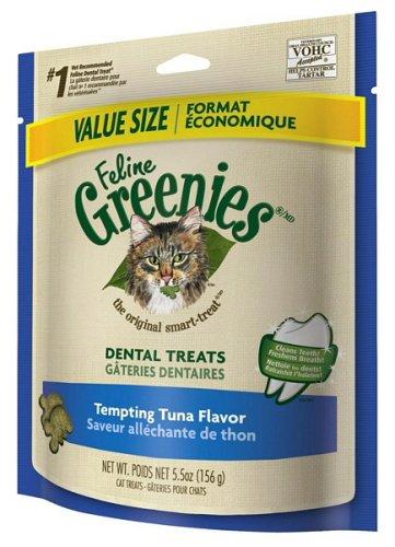 Greenies Feline Dental Treats Tempting Tuna 1.72Lbs (5 x 5.5oz) Review