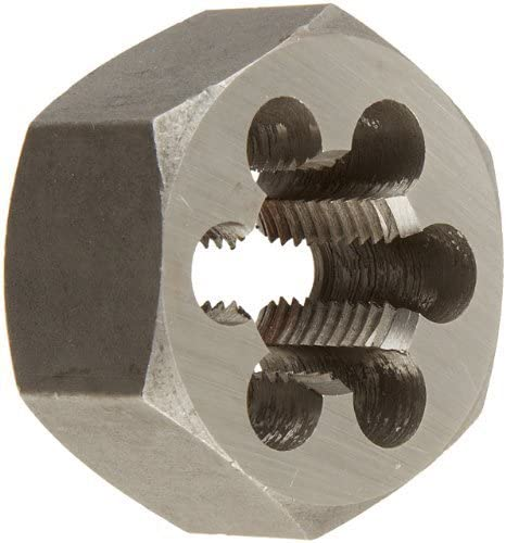 Drill America DWT Series Qualtech Carbon Steel Hex Threading Die, M33 x 2 Size (Pack of 1) by Drill America