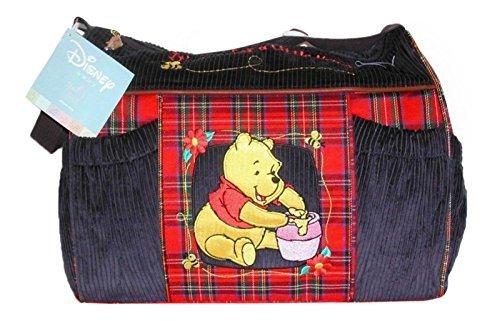 Pooh Baby Diaper Bag - Disney Winnie the Pooh Baby Shower Corduroy Diaper Bag