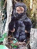 "Bigfoot Stuffed Toy - 13"" Standing Plush Sasquatch Doll"