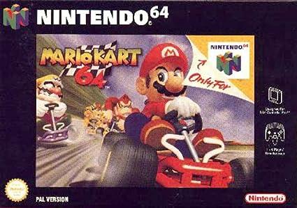 mario kart racing n64