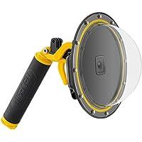 AuyKoo 6 inch Waterdichte T05 GoPro Dome Poort voor GoPro Hero 7/6/5, Duiken Lens Fotografie Dome Poort met Drijvende…