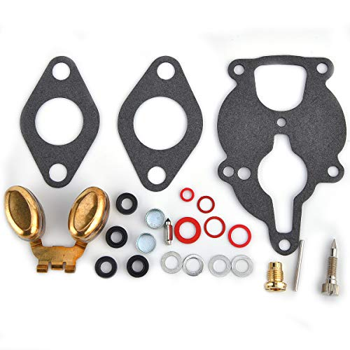 Carburetor Rebuild Repair Kit w/Float For Wisconsin Engine VH4D VHD TJD  w/Zenith Carb Replaces LQ39
