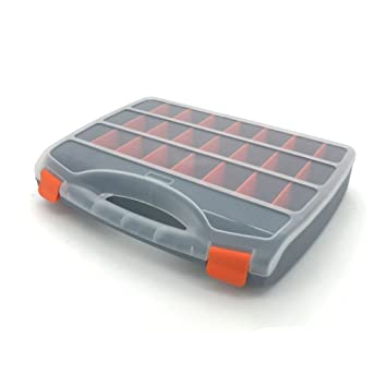 Cara de almacenamiento organizador caja de aparejos de pesca topind tornillos clavos herramienta funda de transporte caja de aparejos de pesca pesca cajas ...