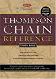 The Thompson Chain-Reference Study Bible, Nelson Bibles Staff, 0718008383