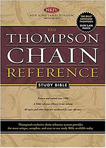 Thompson Chain Reference Study Bible: New King James Version