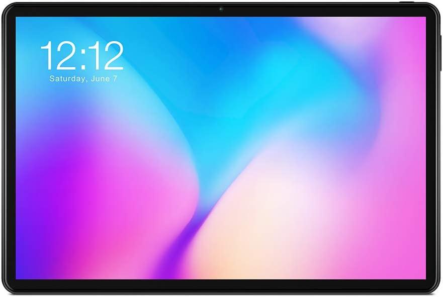 TECLAST Tablet T30 10.1'' FHD 8 Núcleos Android 9.0 4GB RAM 64GB ROM WiFi 4G Tableta GPS 5.0MP +8.0MP Cámara 8000mAh Batería - Negro