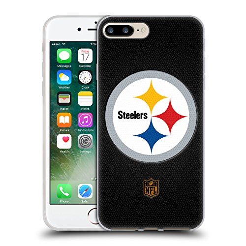 d9fd763fc Official NFL Football Pittsburgh Steelers Logo Soft Gel Case for Apple  iPhone 7 Plus   8 Plus