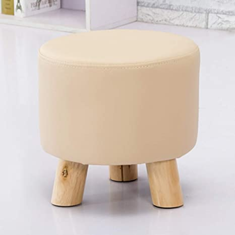 Swell Amazon Com Gz Round Short Padded Ottoman Footrest Shoe Pdpeps Interior Chair Design Pdpepsorg