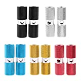 MonkeyJack Lot 10Pcs Alloy Mountain BMX Bikes Bicycles Cylinder Standing Axle Foot Pegs