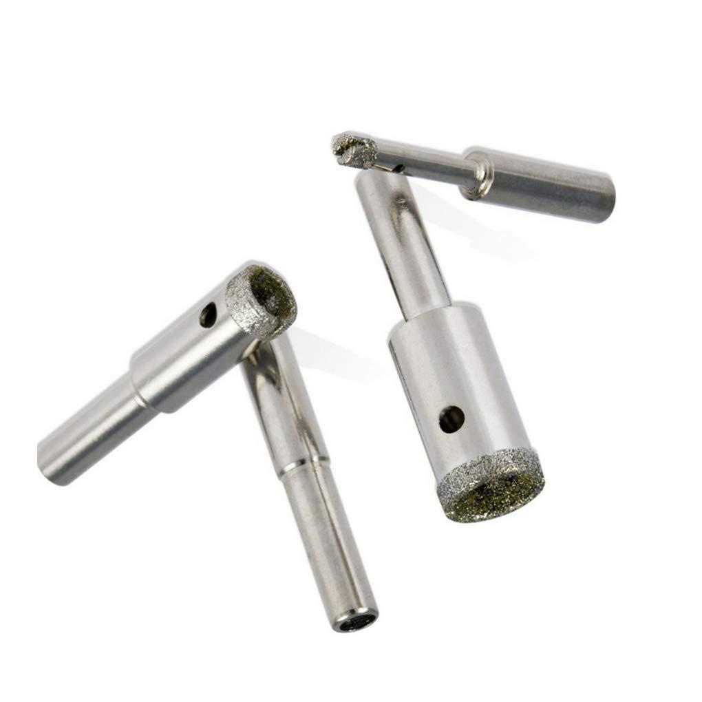 Set Agujero de Cristal Brocas Bead Pulido Heads Perforadora Pulidora bit Kit de Pulido Cabeza Topke 5pcs