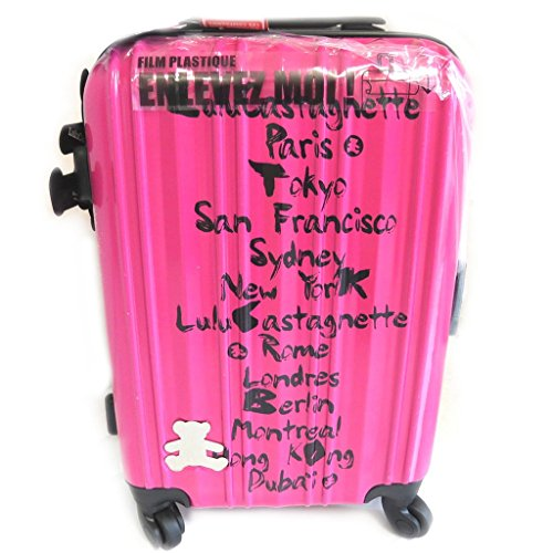 Abs trolley valigia 'Lulu Castagnette'fucsia (50 cm).