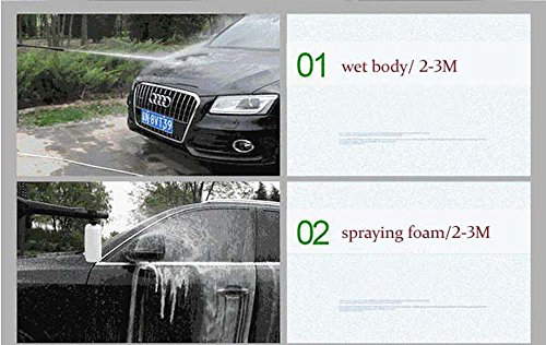 Hfa 110b3 Portable Domestic High Pressure Car Washer Self Suction