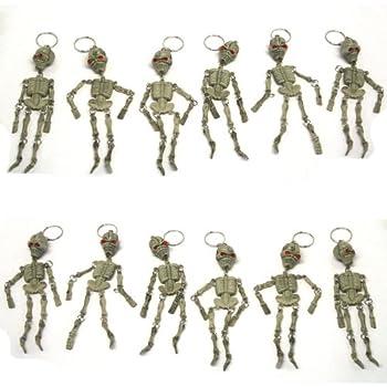 Skeleton Keychains - Pack of 12