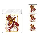 Tree-Free Greetings NC37547 Amy Brown Fantasy 4-Pack Artful Coaster Set, Fire Dance Fairy