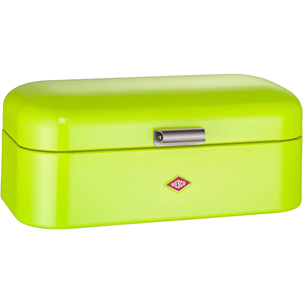 Wesco Grandy Lime Green Bread Bin