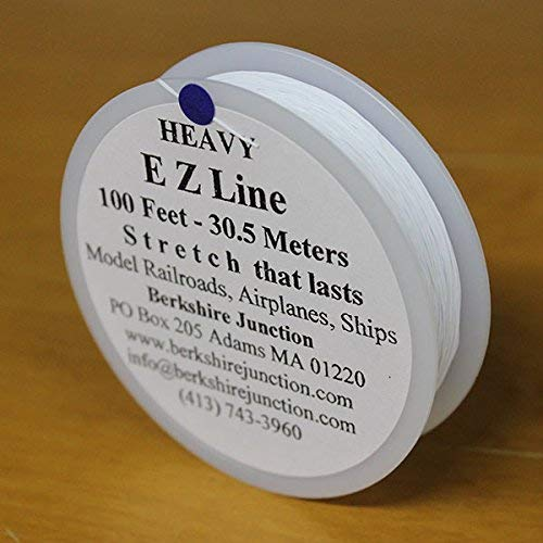 EZ Line Simulating Wires Natural White Color - Heavy