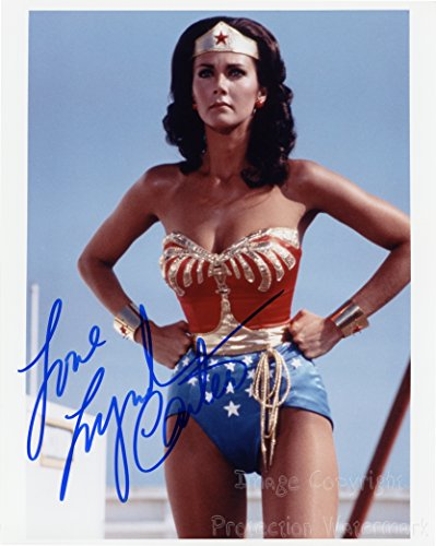 Lynda Carter Signed Autographed 8x10 Inch Photo Print