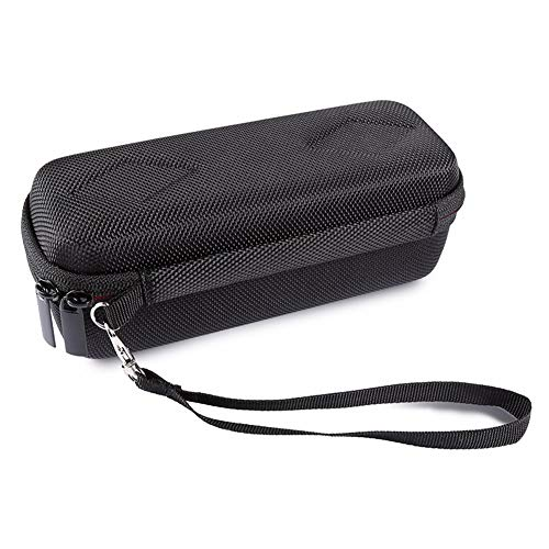 JISETY Travel Carrying Wireless Speaker Case for Anker Soundcore 1 with Mesh Dual Pocket Audio Cable Bag Hand Strap Zipper