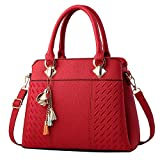 Clearance Sale! ZOMUSAR Fashion Women Leather Splice Handbag Shoulder Bag Crossbody Messenger Bag