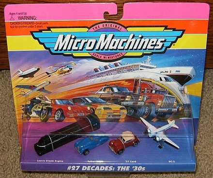 Micro Machines Decades the 30's #27 Collection ()