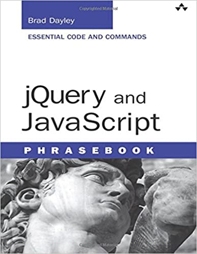 jQuery and JavaScript Phrasebook (Developer's Library): Brad