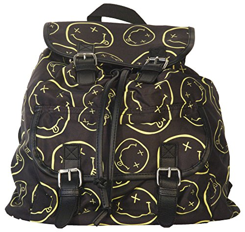 Nirvana Smiley Logo Backpack