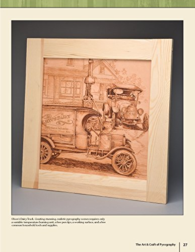 The Art & Craft of Pyrography: Drawing with Fire on Leather, Gourds, Cloth, Paper, and Wood (Fox Chapel Publishing) More Than 40 Patterns, Step-by-Step Projects, and Expert Advice from Lora S. Irish by Design Originals (Image #3)