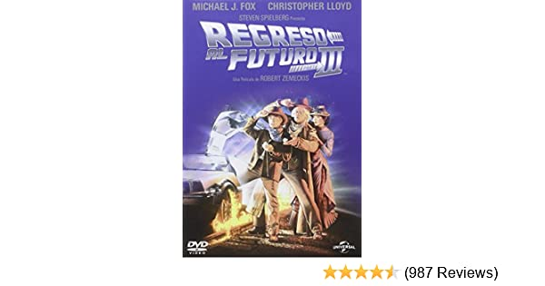 Amazon.com: Regreso al Futuro III (Back to the future III) European Import- Region 2: Movies & TV