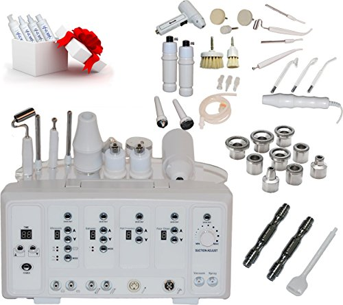 LCL Beauty Professional 7 in 1 Digital Microdermabrasion Facial Skin Salon Spa Beauty Equipment by LCL Beauty