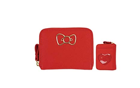Amazon.com: Sanrio Hello Kitty - Cartera pequeña con funda ...