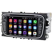 QSICISL 7 inch Android 7.1 16GB Quad core 2 Din Car DVD Player For FORD FOCUS 2 MONDEO S-MAX CONNECT 2008 2009 2010 2011 head unit Car GPS Navigation Audio Radio Stereo