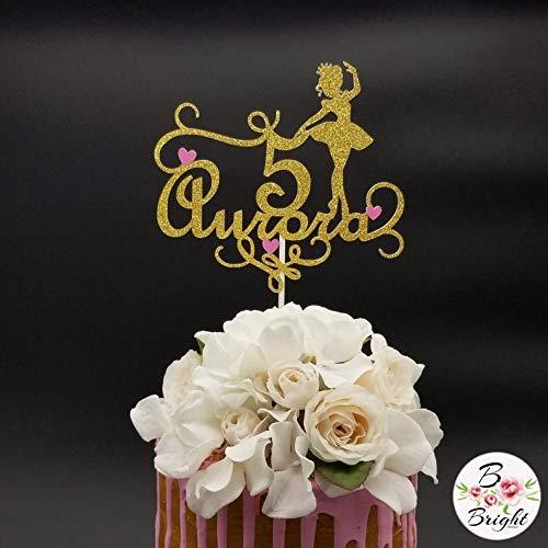 Decoración para tarta de bailarina personalizada, decoración para ...