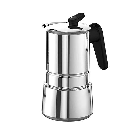 HEYU-Moka Cafetera Italiana Mocha, cafetera Espresso Manual ...