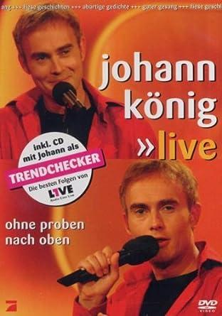 cd von comedy kabarett kuenstler Comedy & Kabarett, Hoerbuecher Johann König - Ohne Proben nach oben: Live Audio-CD dvd Audio-CDs