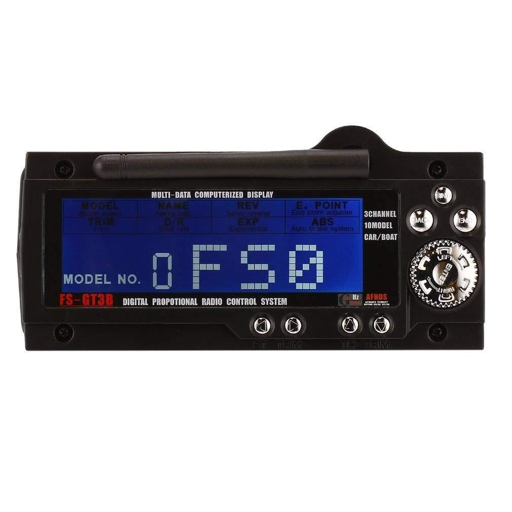 JUN GUANG FS GT3B 3 Channel 2.4 G Bateau de contrôle de l'émetteur Gun transmetteur récepteur